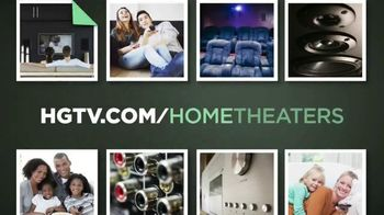 HGTV Home Theaters TV Spot, 'Cinematic Experience'