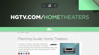 HGTV Home Theaters TV Spot, 'Cinematic Experience' - Thumbnail 2