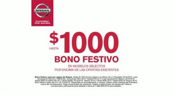 Nissan Bono Festivo TV Spot, 'Día del Presidente' [Spanish] - Thumbnail 5