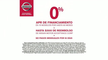 Nissan Bono Festivo TV Spot, 'Día del Presidente' [Spanish] - Thumbnail 6