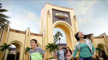 Universal Orlando Resort TV Spot, 'Epic' Song by KONGOS - 3767 commercial airings