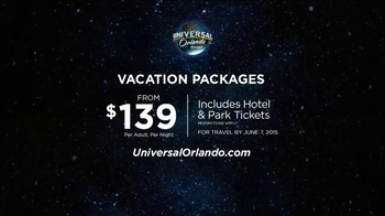 Universal Orlando Resort TV Spot, 'Epic' Song by KONGOS - Thumbnail 7