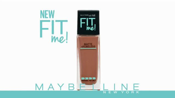 Maybelline New York Fit Me! Matte + Poreless Foundation TV Spot, 'Natural' - Thumbnail 1