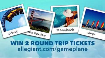 Allegiant Game Plane TV Spot, 'Book Together' - Thumbnail 9