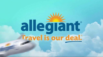 Allegiant Game Plane TV Spot, \'Book Together\'