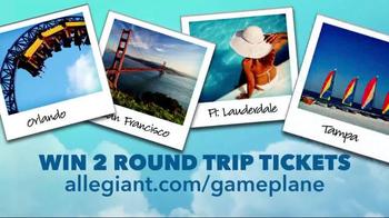 Allegiant Game Plane TV Spot, 'Book Together' - Thumbnail 7