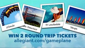 Allegiant Game Plane TV Spot, 'Book Together' - Thumbnail 8
