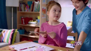 Crayola Color Alive TV Spot, 'Bring Drawings to Life' - Thumbnail 5
