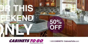 Cabinets To Go TV Spot, 'American Cherry' - Thumbnail 3