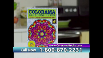 Colorama Books TV Spot, 'Beautiful and Relaxing' - Thumbnail 7