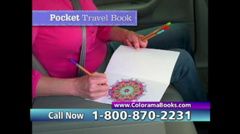 Colorama Books TV Spot, 'Beautiful and Relaxing' - Thumbnail 8