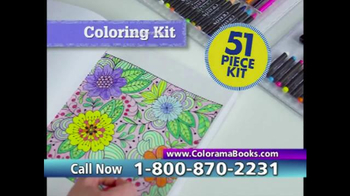 Colorama Books TV Spot, 'Beautiful and Relaxing' - Thumbnail 9