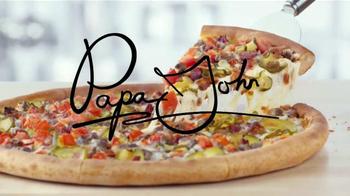 Papa John's Bacon Cheeseburger Pizza TV Spot, 'Gran Pizza' [Spanish] - Thumbnail 5