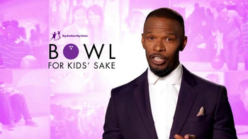 Big Brothers Big Sisters TV Spot, 'Bowl for Kids' Sake' Feat. Jamie Foxx - Thumbnail 3