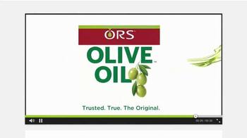 ORS Olive Oil Edge Control TV Spot, 'Real Talk, Real Reviews' - Thumbnail 10