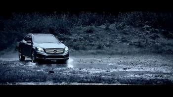 2015 Mercedes-Benz GLA 250 4MATIC TV Spot, 'No Laughing Matter' - Thumbnail 7
