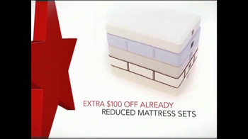 Macy's One Day Sale February 2015 TV Spot, 'Reduced Mattress Sets' - 5 commercial airings