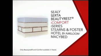 Macy's One Day Sale February 2015 TV Spot, 'Reduced Mattress Sets' - Thumbnail 1
