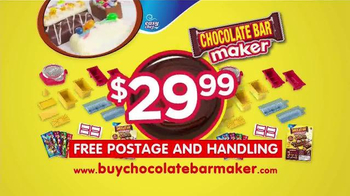 Chocolate Bar Maker TV Spot, 'Any Combination You Can Imagine' - Thumbnail 9