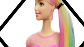 Barbie Rainbow Hair Doll TV Spot, 'Different Colors Different Looks' - Thumbnail 4