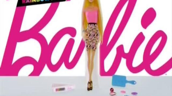 Barbie Rainbow Hair Doll TV Spot, 'Different Colors Different Looks' - Thumbnail 9