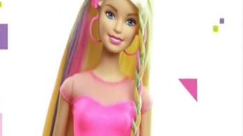 Barbie Rainbow Hair Doll TV Spot, 'Different Colors Different Looks' - 843 commercial airings