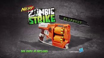 Nerf Zombie Strike Flipfury TV Spot, 'Zombie Stopping Action' - Thumbnail 8