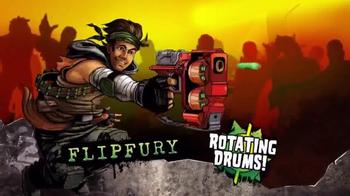 Nerf Zombie Strike Flipfury TV Spot, 'Zombie Stopping Action' - Thumbnail 6