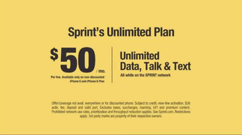 Sprint Unlimited Plan TV Spot, 'Narwhals' - Thumbnail 5