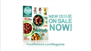 Food Network Magazine TV Spot, 'New Issue on Sale' - Thumbnail 9