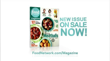 Food Network Magazine TV Spot, 'New Issue on Sale' - Thumbnail 1