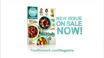 Food Network Magazine TV Spot, 'New Issue on Sale' - Thumbnail 3
