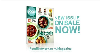 Food Network Magazine TV Spot, 'New Issue on Sale' - Thumbnail 4