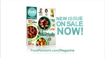 Food Network Magazine TV Spot, 'New Issue on Sale' - Thumbnail 8
