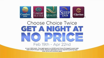 Choice Hotels TV Spot, 'Book Twice' - Thumbnail 7