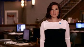 The NO MORE Project TV Spot, 'Won't Stand' Featuring Mariska Hargitay