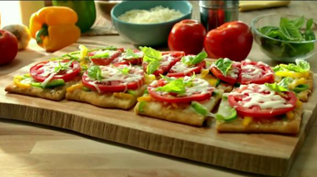 Fresh from Florida TV Spot, 'Flat Bread with Tomatoes and Bell Peppers' - Thumbnail 1