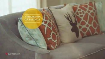Overstock.com Presidents Day Sale TV Spot, 'Declaration of Savings' - Thumbnail 6