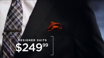 Men's Wearhouse Designer Sale TV Spot, 'Designer Suits and Sportcoats' - Thumbnail 1