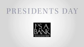 JoS. A. Bank TV Spot, 'Presidents Day Weekend' - Thumbnail 1
