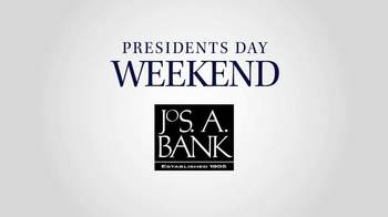 JoS. A. Bank TV Spot, 'Presidents Day Weekend' - Thumbnail 2