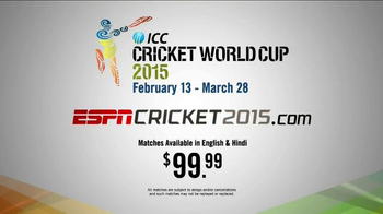 2015 ICC Cricket World Cup TV Spot, 'Crowning the Champions' - Thumbnail 6