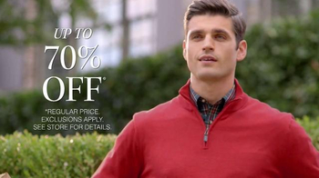 JoS. A. Bank TV Spot, '70% Off Everything' - Thumbnail 5