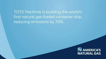 America's Natural Gas Alliance TV Spot, 'Think About It: Tote Maritime' - Thumbnail 9