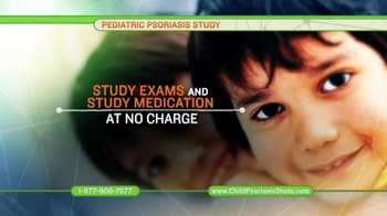 Pediatric Psoriasis Study TV Spot, 'Research Study' - Thumbnail 4