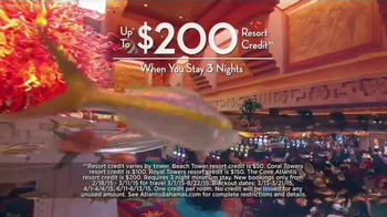 Atlantis When the Sea Gave Way to the Sky TV Spot, 'Resort Credit' - Thumbnail 8