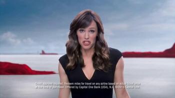 Capital One TV Spot, 'Rewards Miles' Featuring Jennifer Garner - Thumbnail 4