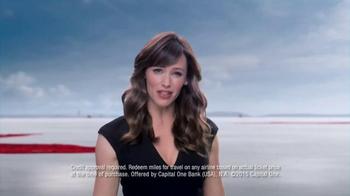 Capital One TV Spot, 'Rewards Miles' Featuring Jennifer Garner - Thumbnail 5