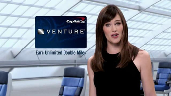Capital One Venture Card TV Spot, 'Book That Vacation' Ft. Jennifer Garner - Thumbnail 5
