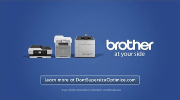 Brother Office TV Spot, 'Don't Supersize. Opitimize.' - Thumbnail 8